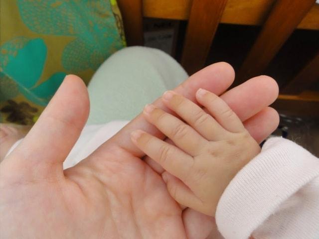 赤ちゃん 爪1