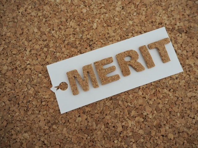 文字 MERIT